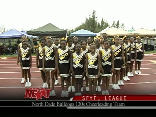 Meet the North Dade Bulldogs 120s Cheerleaders