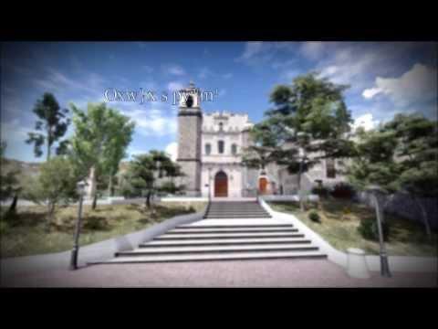 Animación 3D del Exconvento de San Francisco, Pachuca