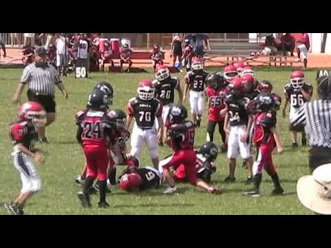 Superman returns to play  Youth football.  (2009 ) Season highlights.