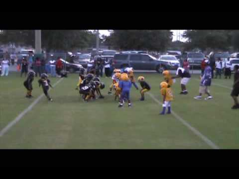 Northside Pee Wees Hard Hit