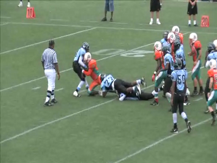 West Kendall Dolphins 175lbs 2009 Season Highlights Part 4