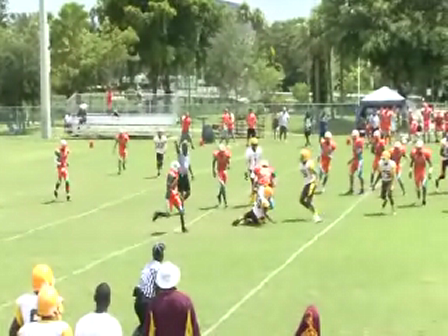 West Kendall Dolphins 175lbs 2009 Season Highlights Part 2