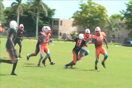 West Kendall Dolphins 175lbs 2009 Season Highlights Part 3