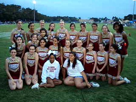 Meet The Weston Warriors Cheer 135's