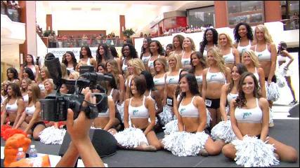 Dolphins Cheerleader Auditions