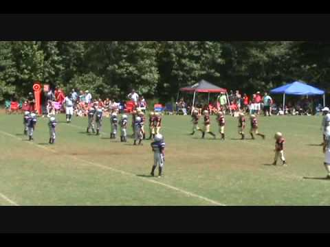 7 year old quarterback Harrison Bailey