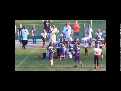 8 Year Old Middle Linebacker Phenom 2012 Highlights (Dont sleep on this kids highlights)