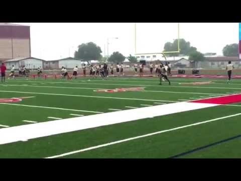 2015 Football University | Wide Receiver | Javon Marks | Class of 2019 | 7v7 and 1v1 Highlights |