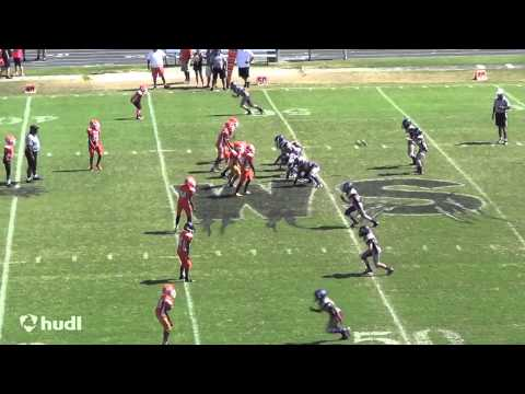 Joey McCann (age 11) - 2014 Winter Springs Pop Warner - Highlights