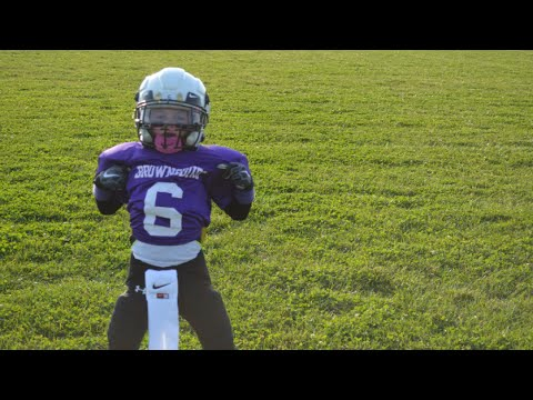 Parker Reynolds 2014 2nd Grade BJFL Football Season Highlights