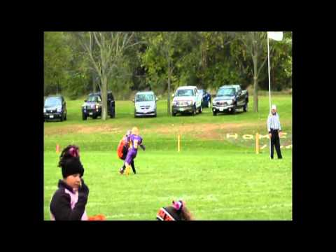 James Cooper Jr 11 year old QB 2014 highlights