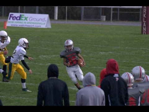 #16 ISIAH RICO GRAY 2015 PARKLAND MIDDLE SCHOOL FOOTBALL HIGHLIGHTS