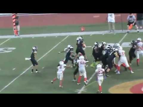 "11 Year Old Running Back Amir ""A-Train"" Bankhead's 2014 Offensive Highlights"