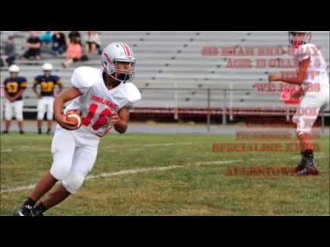 #16 ISIAH RICO-GRAY 2016 PARKLAND MIDDLE SCHOOL MIDSEASON HIGHLIGHTS CLASS OF 2021 RUNNING BACK