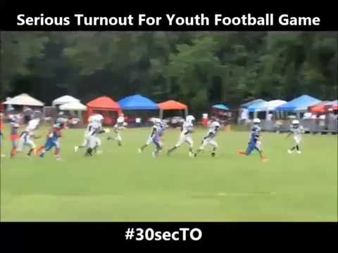 SERIOUS TURNOUT FOR YOUTH FOOTBALL GAME | #30secTO