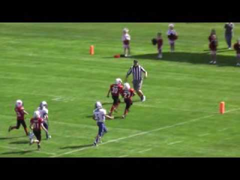 Youth football player scores touchdown for sick mother