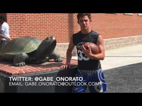 Gabriel Onorato, QB CO 2020 | Maryland Camp 6-11-16