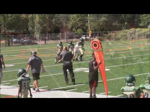 Rob Champ Long 2016 Football Season Highlights - 12u - AYF - Quarterback Phenom