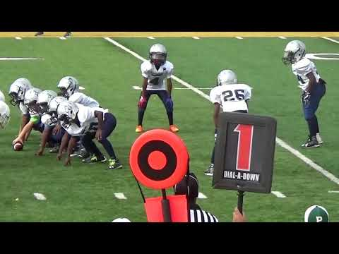 Justin Batiste 2017 Football Highlights