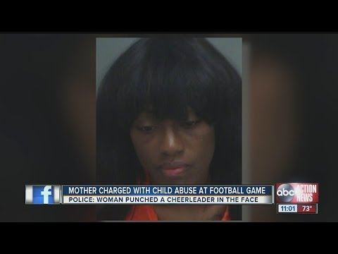 Mom arrested at youth football game following taunts from opposing team cheerleaders