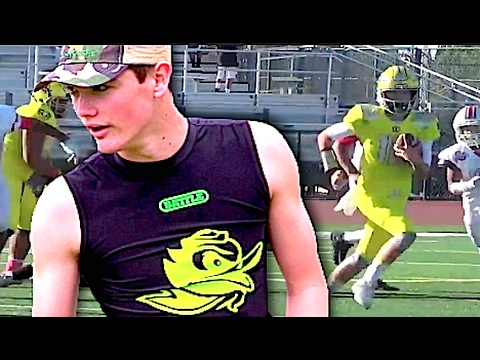 QB Treyce Warren '21 | IE Ducks 14U (CA) UTR Youth Spotlight 2017