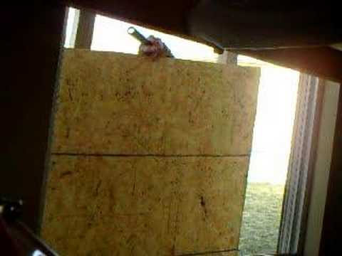 BOARDING UP A WINDOW