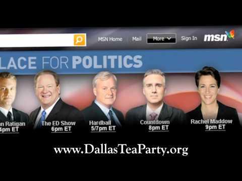 Dallas Tea Party Invites the White People of MSNBC