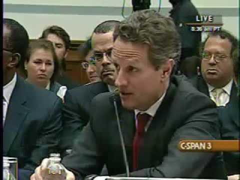 Marci Kaptur Chews Up Tim Geithner