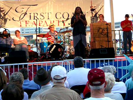 Tea Party Jacksonville April 15, 2010