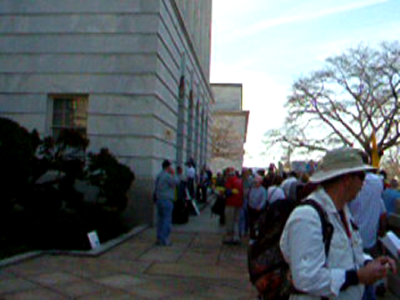 Saturday Afternoon Congressional Office Building