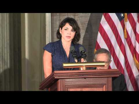 Norah Jones Sings 'America the Beautiful' at Congressional Gold Medal Ceremony