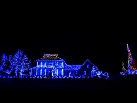2011 Christmas Lights- Thank You Troops and Veterans!