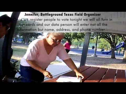 BREAKING NEW VIDEO: Battleground Texas Illegally Copying Voter Data