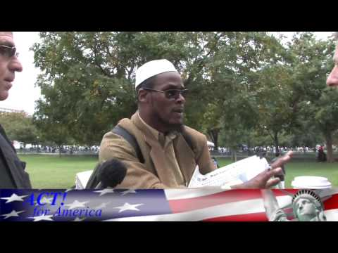 Muslim Day (2 of 3) ACT! interviews disciple of Islamist terrorist Sheikh Gilani