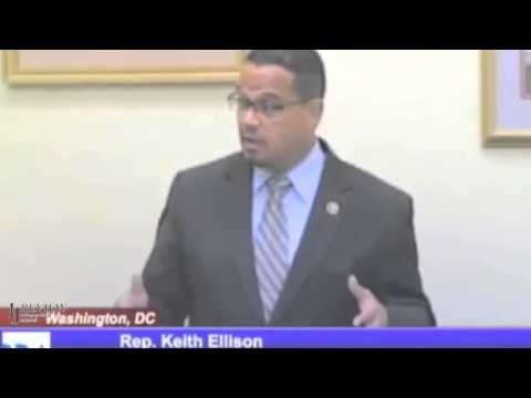 Rep. Keith Ellison - There's Plenty of Money and 'Government Has a Right' To It