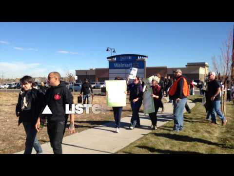Unions paying anti-Walmart protesters