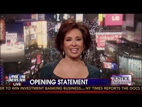 Mr. President, The Clock Is Ticking - Judge Jeanine - Opening Statement - 12-7-13