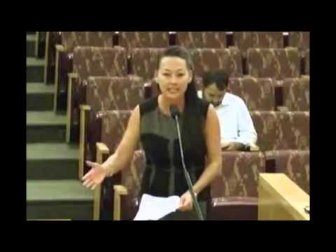 """I'm Just a Mom!"" Daphne Lee Gives Powerful Speech Against NDAA in Clark County, Nevada"