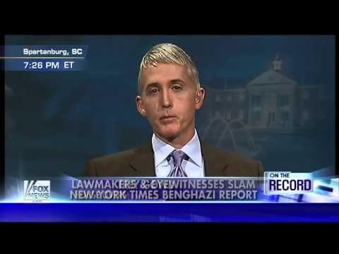 NY Times doing PR work for Hillary, WH on Benghazi?