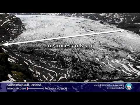 Time-lapse proof of extreme ice loss