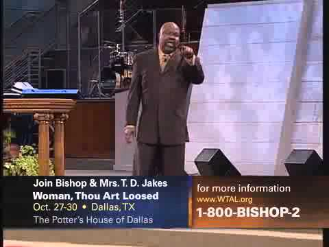 T D Jakes  THE POTTERS TOUCH SLEEPING GIANTS 1x3