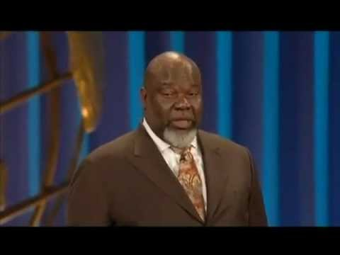 """TD JAKES AT LAKEWOOD """"Can You Hear Me Now"""" Thomas Dexter """"T. D.""""  Pastor Preacher"""