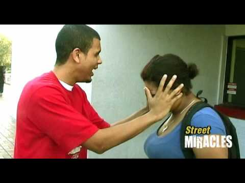 Street Miracles - Girl's Vision Is Healed!