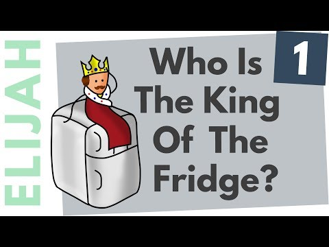 KING OF THE FRIDGE | The Prophet Elijah Story | Part 1 - Whiteboard Bible Study In Minutes