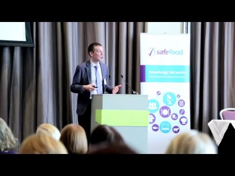 Controlling Foodborne Viruses conference presentation by Dr Eoin Ryan