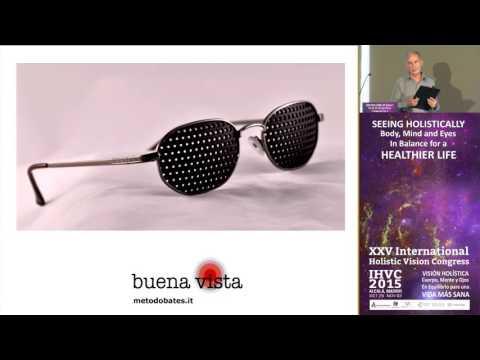 Gafas estenopeicas para mejorar la vista.