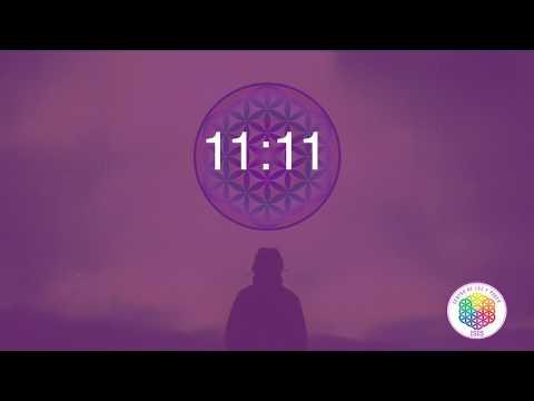 Meditación para el portal 11:11,  anclando los códigos de luz