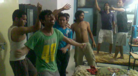 enjoy of students after end of exam