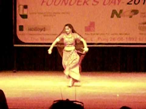 DANCE OF MY DAUGHTER DEEPALI