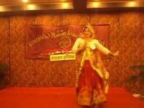 Winner bride of Haryana is dancing in UMA's Karva Chauth function